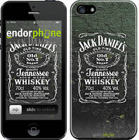 """Чехол на iPhone 5s Whiskey Jack Daniels """"822c-21"""""""
