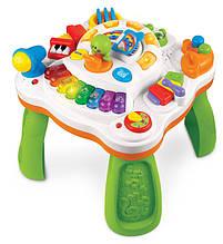Игровой развивающий центр «Weina» (2092) музыкальный столик (звук. эффекты)