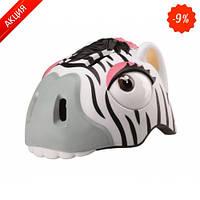 Защитный шлем Crazy Safety Zebra (Зебра) (, размер: Zebraсм.)