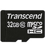 Transcend MicroSDHC 32GB Class10 UHS-1 (card only)