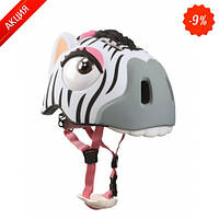 Защитный шлем Crazy Safety Zebra New (, размер: Zebraсм.)