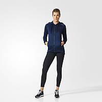 Спортивный костюм женский с капюшоном Adidas Hoodie and Tights BK4677