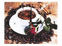 Оригинальные часы настенные Чашка кофе