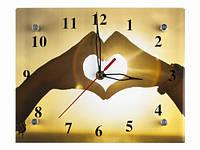 Романтичные часы настенные Наша любовь