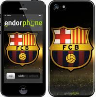 """Чехол на iPhone 5s ФК Барселона """"2299c-21"""""""