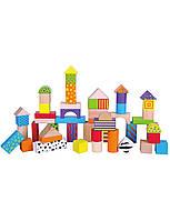 Развивающие и обучающие игрушки «Viga Toys» (59695) набор кубиков, 50 шт.