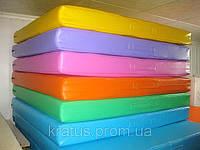 Мат гимнастический детский 1,2х1х0,1м, фото 1