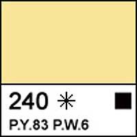 Краска акриловая СОНЕТ пастельно-желтая, 75мл ЗХК
