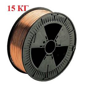Сварочная проволока омедненная  (2мм) св08г2с 15кг