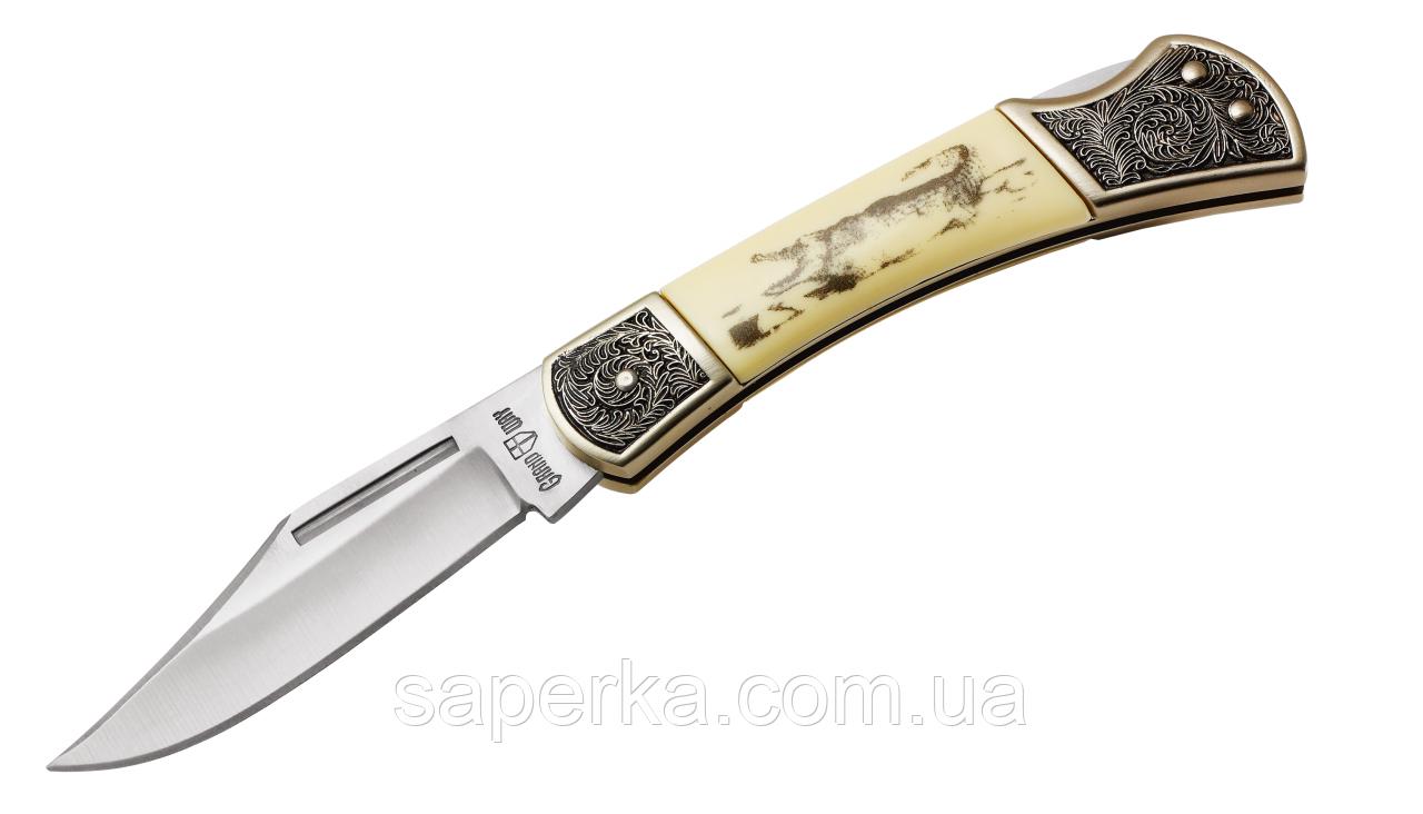 Нож карманный с фальшлезвием Grand Way 2275