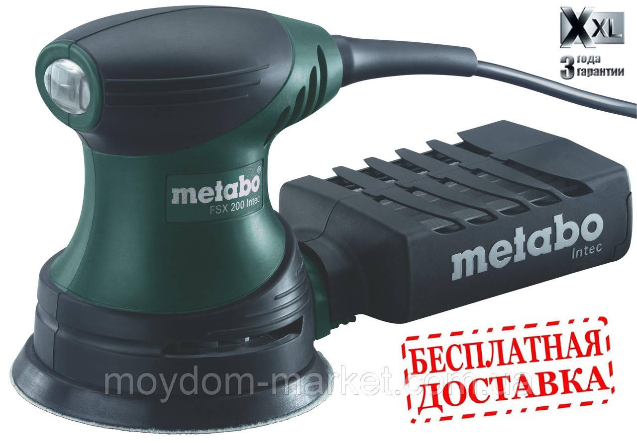 Шліфмаш.ексц. Metabo FSX 200 intec 125мм 240Вт. кофр. /609225500