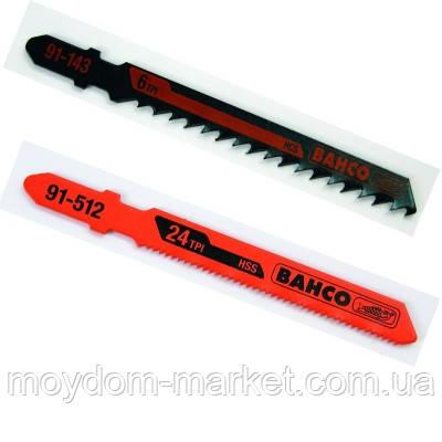 Пилка д/лобзика 100мм, 5шт/уп. 91-148-5Р /Bahco/