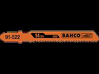 Пилки (полотна) для лобзика BAHCO (91-512-5P) HSS 75мм 5шт/уп Опт и розница
