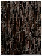 Ковры из кожи, дизайнерские ковры, изготовление ковров любого размера в Украине, фото 1