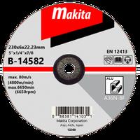 Диск шліфув. Makita 230х6х22мм 36Р алюміній В-14582