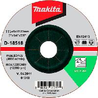 Шлифовальный диск по камню 125x6x22,23мм Makita D-18518