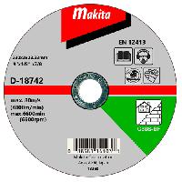 Отрезной диск по кирпичу 230x3,0x22,23мм Makita D-18742