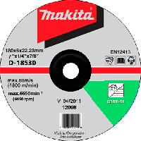 Шлифовальный диск по камню 180x6x22,23мм Makita D-18530