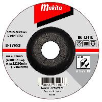 Шлифовальный диск по алюминию 125x6x22,23мм Makita B-17653