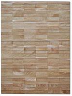 Ковры из прямоугольников кожи, современные ковры, фото 1