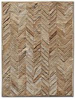 Ковер зиг-заг, кожаные ковры, ковры на заказ Харьков, фото 1