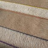 Ковер зиг-заг, кожаные ковры, ковры на заказ Харьков, фото 2