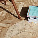 Ковер зиг-заг, кожаные ковры, ковры на заказ Харьков, фото 3