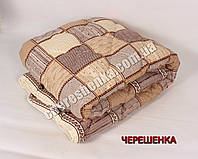 Полуторное одеяло бязь/холлофайбер 018