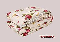 Полуторное одеяло бязь/шерсть 005