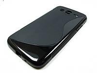 Полимерный TPU чехол Samsung i9150 Galaxy Mega 5.8 (черный), фото 1