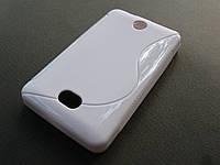 Полимерный TPU чехол Nokia Asha 501 (белый)