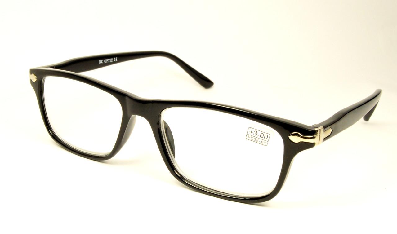 Стильные черные очки оптом (1717)