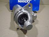 Стартер Ланос редукторний (1,2 кВт, Z=9) Mando, фото 3