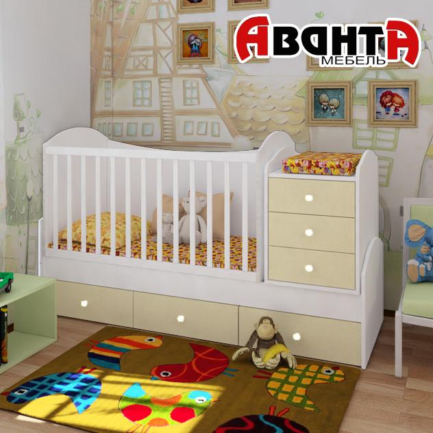 Кровать для новорожденных купить во владимире
