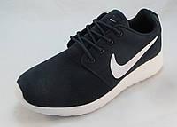 Кроссовки  Nike ROSHE RUN замша синие унисекс (р.37,38,39,40)