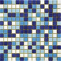 Мозаика стеклянная Vivacer микс 2*2 GLmix8
