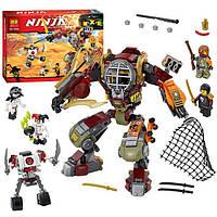 Конструктор Bela Ninja (Ниндзя) 10525 (аналог Lego Ninjago 70592) Робот Ронина 454 дет