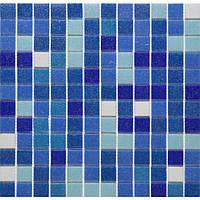Мозаика стеклянная Vivacer микс 2,5*2,5 GLmix7
