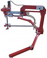 Машина газокислородной резки CG2-1600, оснащенная циркульным устройством с переменным радиусом
