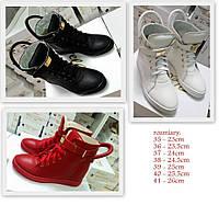 Женские ботинки из Натуральных материалов в Трех цветах  Польша Оригинал
