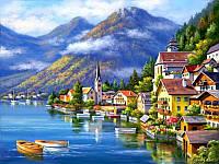 Картина по номерам - Австрийский пейзаж