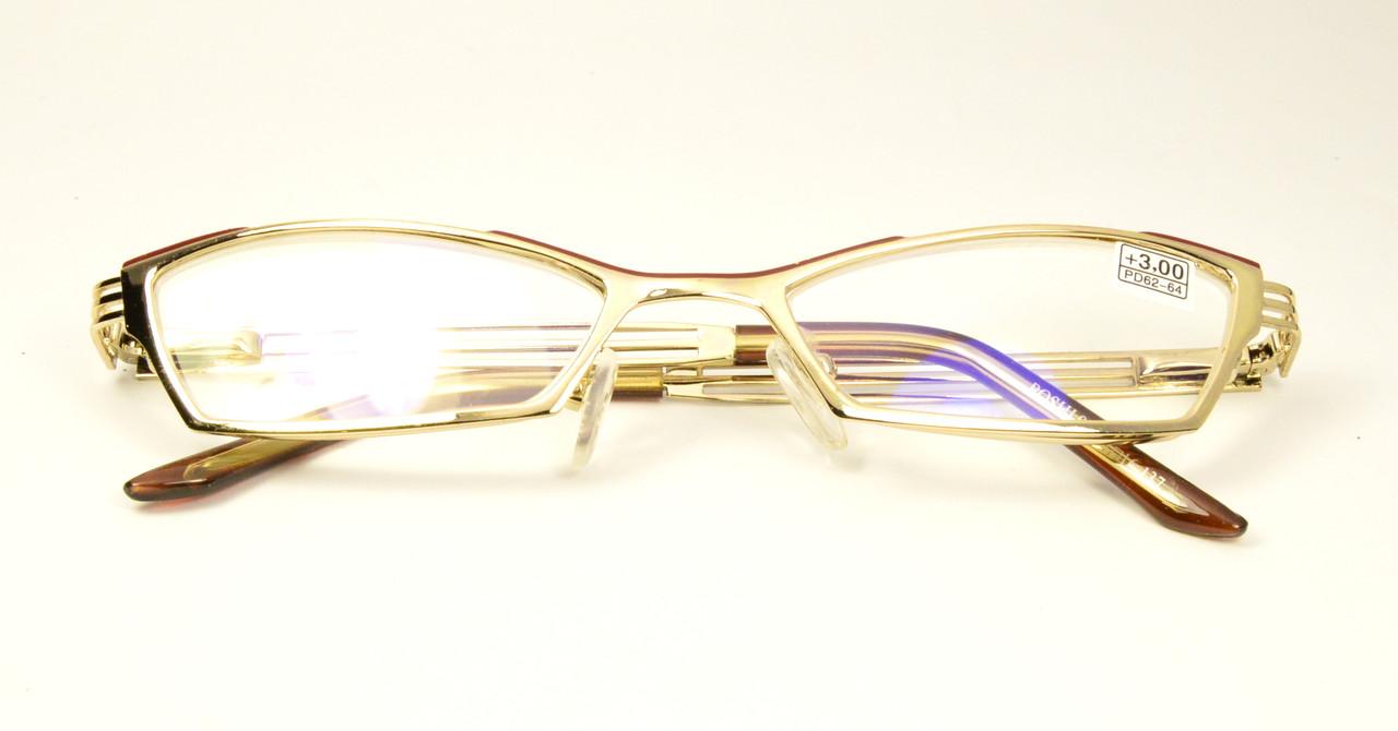 Женские очки в металле (911)