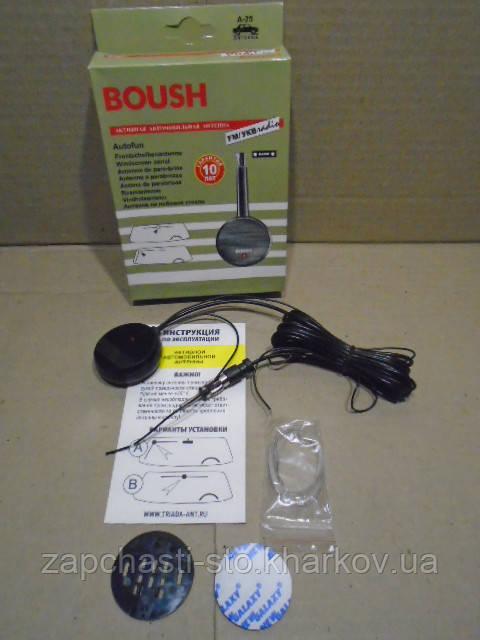 Автомобильная антенна BOUSH с усилителем FM/УКВ 12В (Россия)