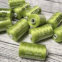 Нитки швейные 40/2, 1000 ярдов, цвет салатовый (№ 234)