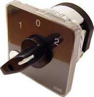 Перемикач пакетний ПКП Е9 40А/2.863 (0-1-0-2-0 3 полюса)