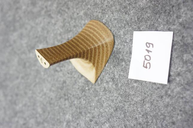 Жіночий Каблук пластиковий 5019 h-7см. беж., фото 2