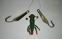 Блесна зимняя жаба с блёстками, фото 1