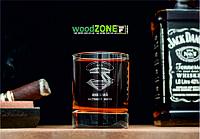 Именной стакан для виски «Настоящий моряк»