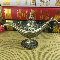 Сувенир пепельница Лампа Алладина бронза, фото 1