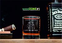 Именной стакан для виски «На границе»